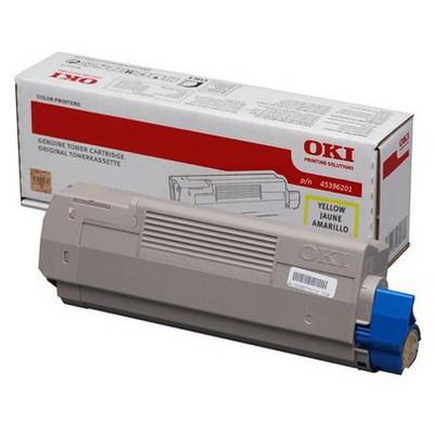 OKI 45396201 Sarı Toner - 11500 Sayfa