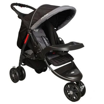 Mcrae MC 815 Triple Jogger Siyah 3 Tekerlekli Bebek Arabası