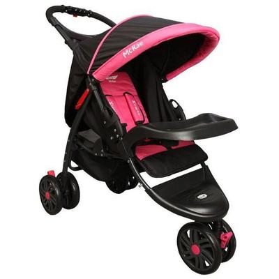 Mcrae MC 815 Triple Jogger Pembe 3 Tekerlekli Bebek Arabası