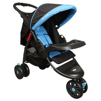 Mcrae MC 815 Triple Jogger Mavi 3 Tekerlekli Bebek Arabası