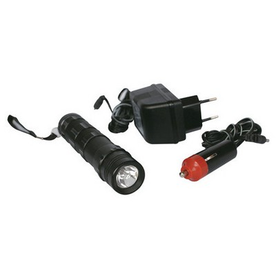 Andoutdoor Şarjlı Alüminyum El Feneri (12/220v) F1201 F1201 Fener & Işıldak