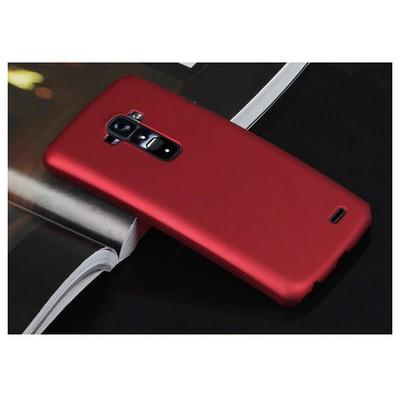 Microsonic Premium Slim Lg G Flex Kılıf Kırmızı Cep Telefonu Kılıfı