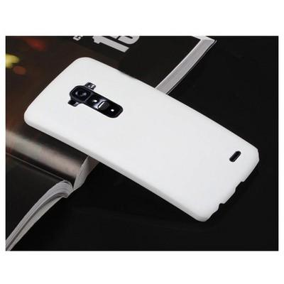 Microsonic Premium Slim Lg G Flex Kılıf Beyaz Cep Telefonu Kılıfı