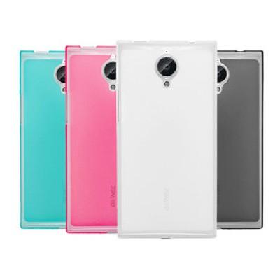 Microsonic Transparent Soft General Mobile Discovery Elite Kılıf Mavi Cep Telefonu Kılıfı