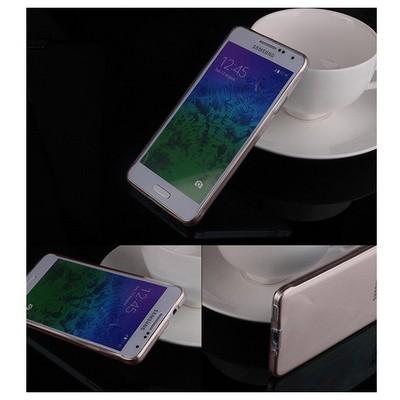 Microsonic Transparent Soft Samsung Galaxy Alpha Kılıf Siyah Cep Telefonu Kılıfı