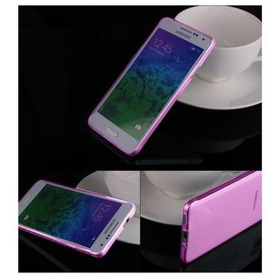 Microsonic Transparent Soft Samsung Galaxy Alpha Kılıf Pembe Cep Telefonu Kılıfı