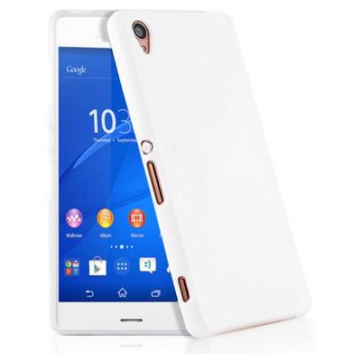 Microsonic Glossy Soft Sony Xperia Z3 Kılıf Beyaz Cep Telefonu Kılıfı