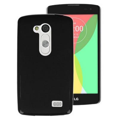 Microsonic Glossy Soft Lg L Fino Kılıf Siyah Cep Telefonu Kılıfı