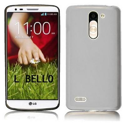Microsonic Glossy Soft Lg L Bello Kılıf Beyaz Cep Telefonu Kılıfı