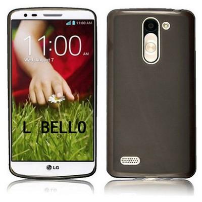Microsonic Glossy Soft Lg L Bello Kılıf Siyah Cep Telefonu Kılıfı