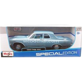 Maisto 1963 Dodge 330 Model Araba 1:18 Arabalar
