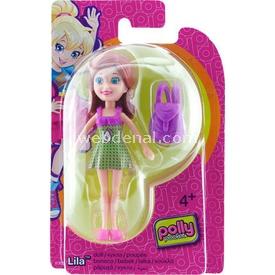 Polly Pocket Bebekler Lila Model 3 Kız Çocuk Oyuncakları