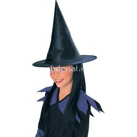 Rubies Cadı Şapkası Ve Siyah Saçı Kostüm & Aksesuar