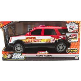 Road Rippers R.r. Rush Rescue Sesli Ve Işıklı Yangın Şefi Aracı Arabalar