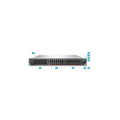 HP Hpe Dl180 Gen E5-2609v3 1x8gb /no Hdd Sata /1rx4 2u/ 1x550w Sunucu