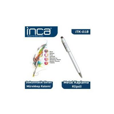 Inca Dokunmatik Beyaz Tablet Kalemi - ITK-01B