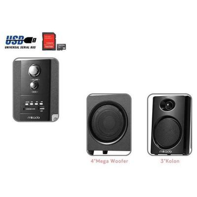 Mikado MD-729FM 5+1 Multimedia Speaker
