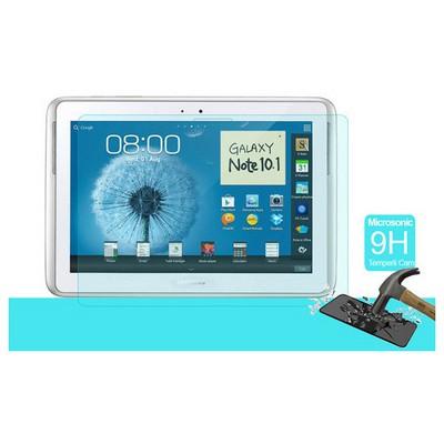 Microsonic Temperli Cam Ekran Koruyucu Samsung Galaxy Note 10.1 N8000 Kırılmaz Film Ekran Koruyucu Film