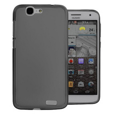Microsonic parlak Soft Huawei Ascend G7 Kılıf Siyah Cep Telefonu Kılıfı