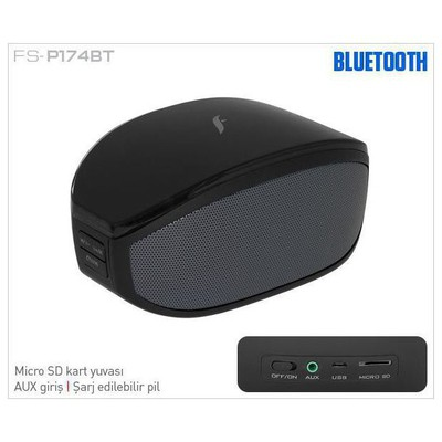 Frisby Fs-p174bt Frısby Fs-p174bt Bluetooth  Siyah Speaker