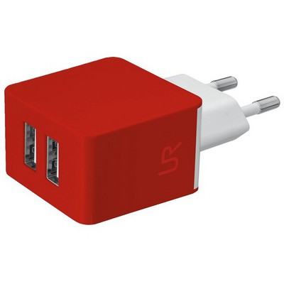 Trust 20149 Ikili Duvar Şarj Cihazı 5w -Kırmızı
