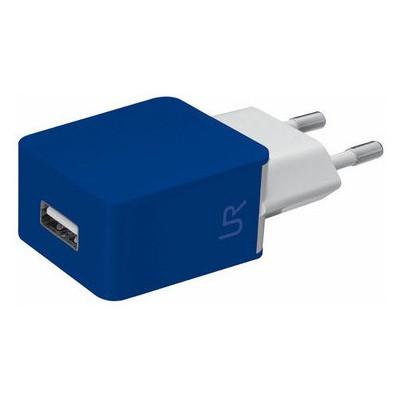 Trust 20144 Duvar Tipi Şarj Cihazı -Mavi/Beyaz Cep Telefonu Aksesuarı