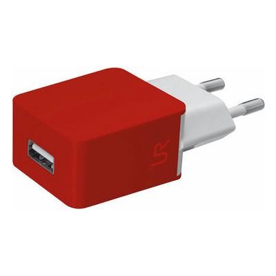 Trust 20145 Duvar Tipi Şarj Cihazı -Kırmızı/Beyaz Cep Telefonu Aksesuarı