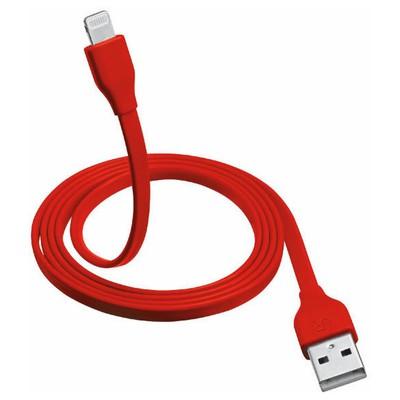 Trust 20129 iPhone/iPad/iPod Lightning Şarj Kablosu 1m-Kırmızı Dönüştürücü Kablo