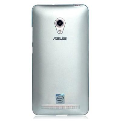 Microsonic Transparent Soft Asus Zenfone 5 Kılıf Mavi Cep Telefonu Kılıfı