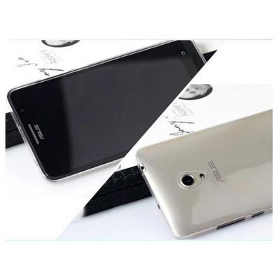 Microsonic Transparent Soft Asus Zenfone 5 Kılıf Beyaz Cep Telefonu Kılıfı