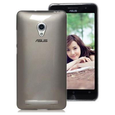 Microsonic Transparent Soft Asus Zenfone 6 Kılıf Siyah Cep Telefonu Kılıfı
