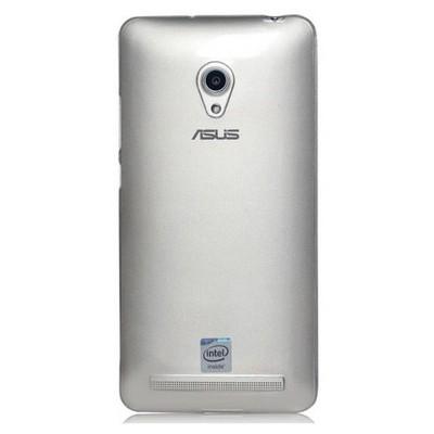 Microsonic Transparent Soft Asus Zenfone 6 Kılıf Beyaz Cep Telefonu Kılıfı