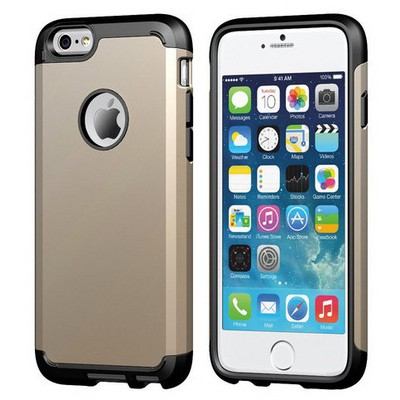 Microsonic Slim Fit Dual Layer Armor Iphone 6 Plus (5.5) Kılıf Sarı Cep Telefonu Kılıfı