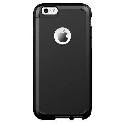 Microsonic Slim Fit Dual Layer Armor Iphone 6 Plus (5.5) Kılıf Siyah Cep Telefonu Kılıfı