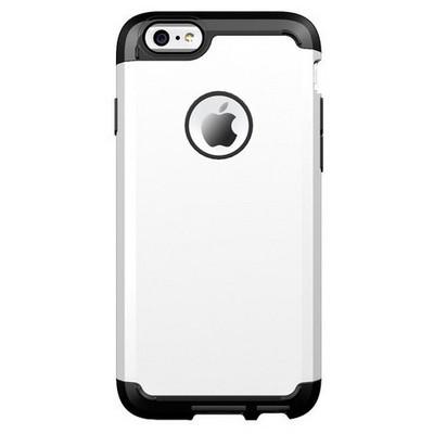 Microsonic Slim Fit Dual Layer Armor Iphone 6 (4.7) Kılıf Beyaz Cep Telefonu Kılıfı
