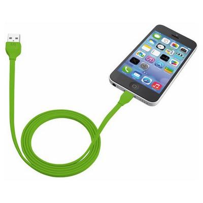 Trust 20130 iPhone/iPad/iPod Lightning Şarj Kablosu 1m-Yeşil Dönüştürücü Kablo
