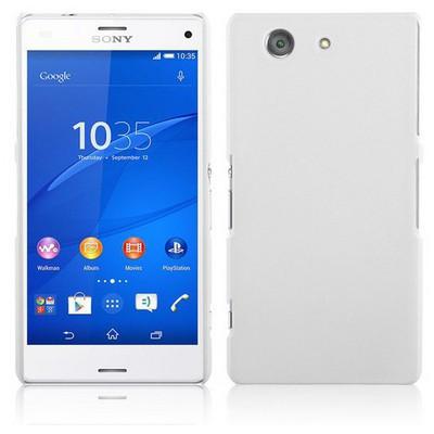 Microsonic Premium Slim Sony Xperia Z3 Compact (z3 Mini) Kılıf Beyaz Cep Telefonu Kılıfı