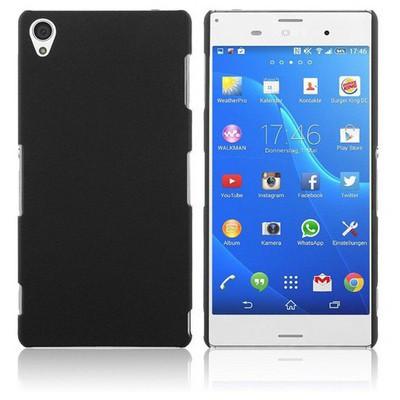 Microsonic Premium Slim Sony Xperia Z3 Kılıf Siyah Cep Telefonu Kılıfı