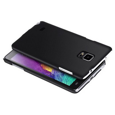 Microsonic Premium Slim Samsung Galaxy Note 4 Kılıf Siyah Cep Telefonu Kılıfı