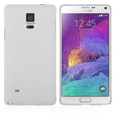 Microsonic Premium Slim Samsung Galaxy Note 4 Kılıf Beyaz Cep Telefonu Kılıfı
