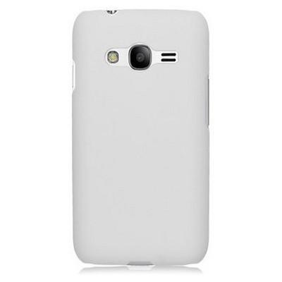 Microsonic Premium Slim Samsung Galaxy Ace 4 Kılıf Beyaz Cep Telefonu Kılıfı