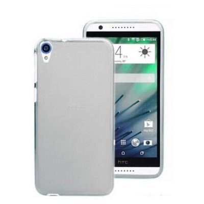Microsonic Transparent Soft Htc Desire 820 Kılıf Beyaz Cep Telefonu Kılıfı