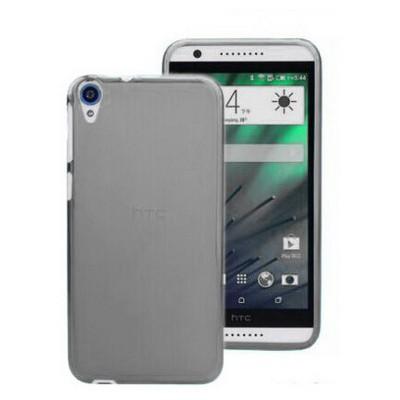 Microsonic Transparent Soft Htc Desire 820 Kılıf Siyah Cep Telefonu Kılıfı