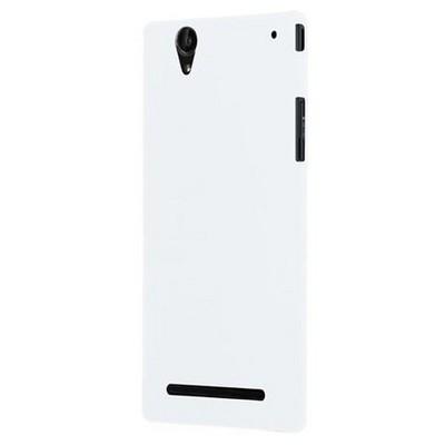 Microsonic Premium Slim Sony Xperia T2 Ultra Kılıf Beyaz Cep Telefonu Kılıfı