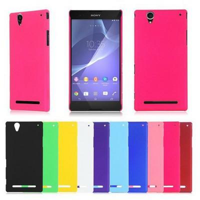 Microsonic Premium Slim Sony Xperia T2 Ultra Kılıf Siyah Cep Telefonu Kılıfı
