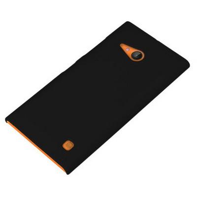 Microsonic Premium Slim Nokia Lumia 735 Kılıf Siyah Cep Telefonu Kılıfı