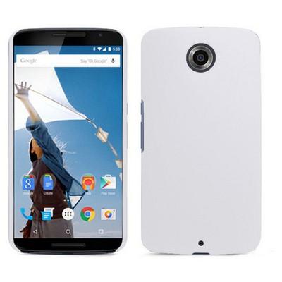 Microsonic Premium Slim Motorola Nexus 6 Kılıf Beyaz Cep Telefonu Kılıfı