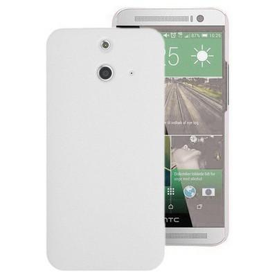 Microsonic Premium Slim Htc One E8 Kılıf Beyaz Cep Telefonu Kılıfı