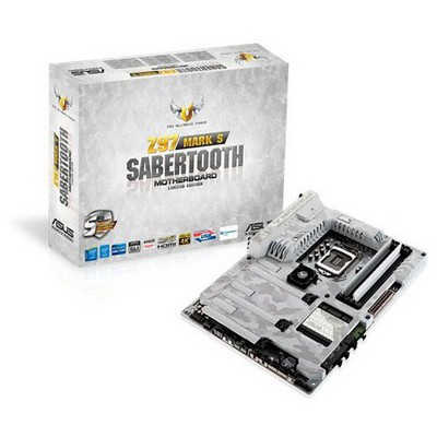 Asus Sabertooth Z97 Mark S Limited Intel Z97 HDMI DDR3 Anakart