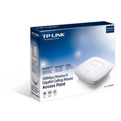 Tp-link EAP120 300Mbps Kablosuz N Gigabit Tavan Tipi Access Point